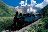 Switzerland Furka Steam Train Thumb