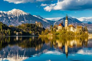 Vintage Slovenia (and Lake Bled)