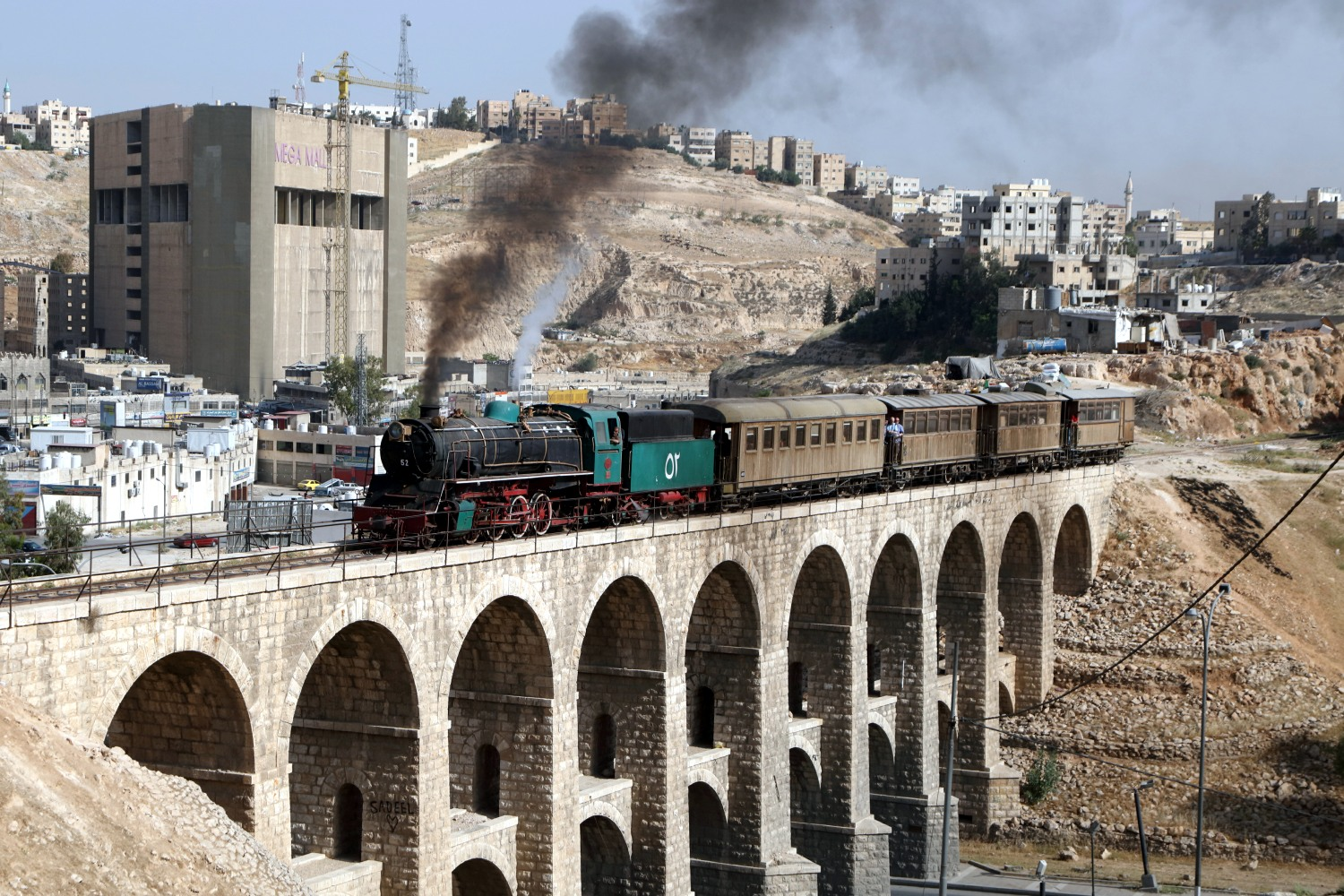 Rail and Ancient Wonders of Jordan