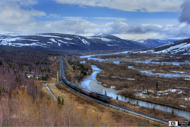 Crossing the Urals