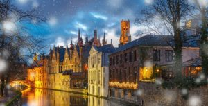 Bruges Christmas Market - In Style