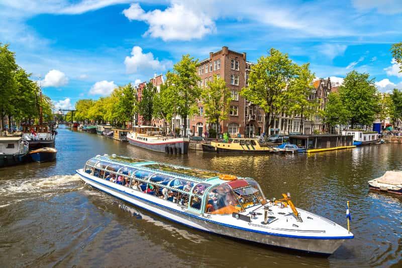explore amsterdam on a dutch railway holiday